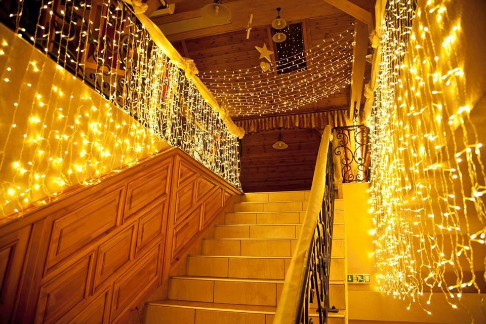Lépcső díszítés